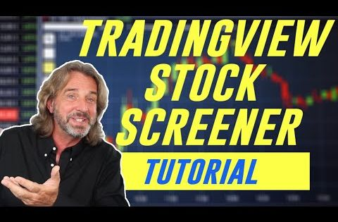 How I Use The Tradingview Stock Screener To Find The Best Stocks To Trade Youtube Stock Screener Best Stocks Stock Options Trading