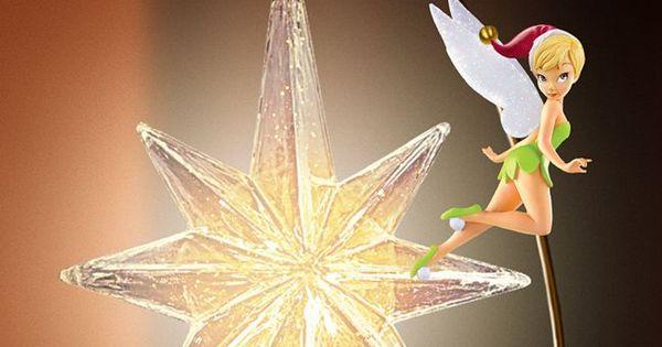 Disney Holiday Treasures Christmas Tree Topper
