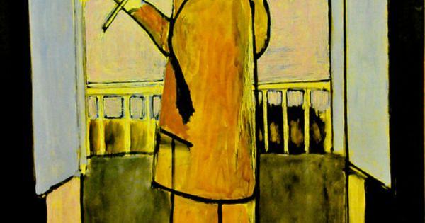 Henri matisse le violoniste a la fenetre la fenetre for Le violoniste a la fenetre henri matisse
