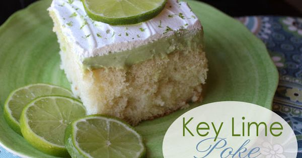 Key Lime Poke Cake from @Jamie Wise Wise Wise Cooks It Up!