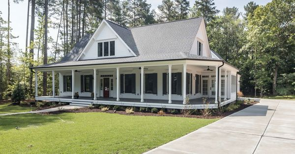southern living house plan farmhouse revival dream