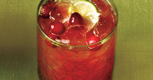 Cranberry-Key Lime Punch - 23 Festive Holiday Punch Recipes | Holiday ...