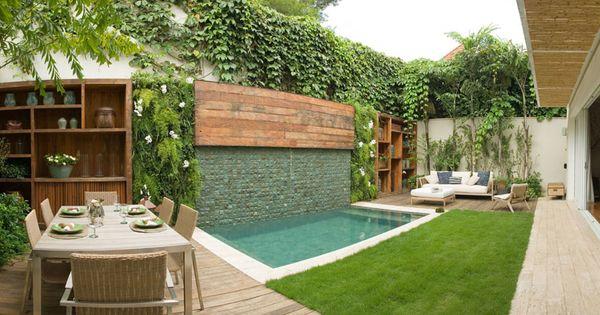 Casa de valentina o sis particular pool ideas - Piscinas en patios interiores ...