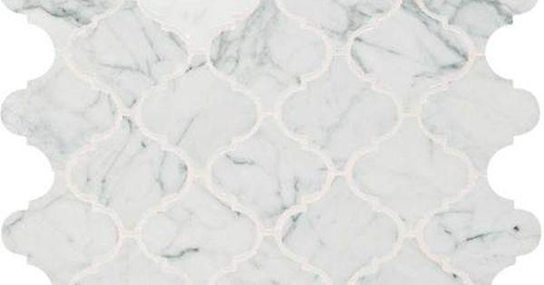 Daltile Baroque Mosaic In Carrara Marble M701 2013