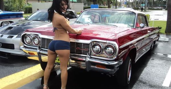 Pin By JLS 😎 On LOWRIDER BABES  Pinterest Cars