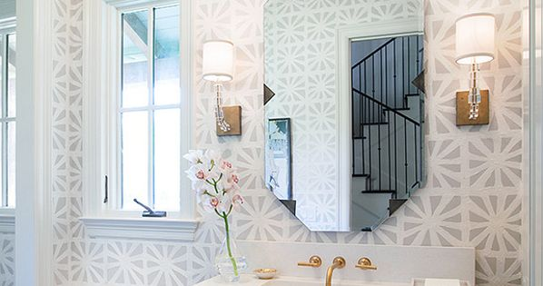 Instead of spending thousands on funky bathroom tile for Funky bathroom wallpaper ideas