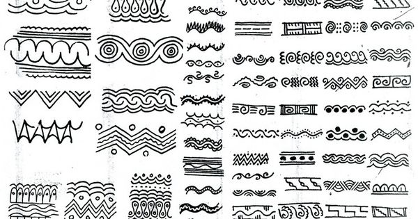 African patterns afrique pinterest conception - Motifs africains maternelle ...