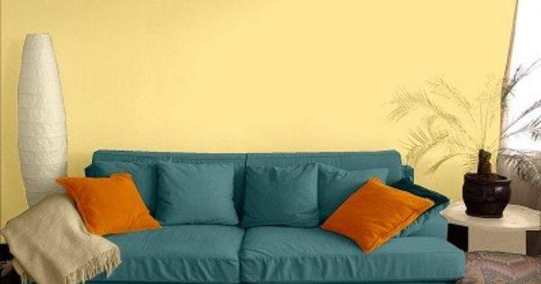 Farbgestaltung Fur Ein Wohnzimmer In Den Wandfarben My Delight