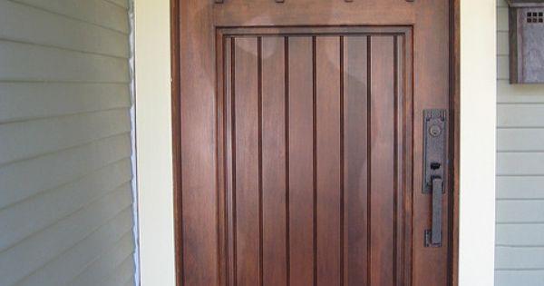 A New Douglas Fir Front Door Stains Front Doors And Doors