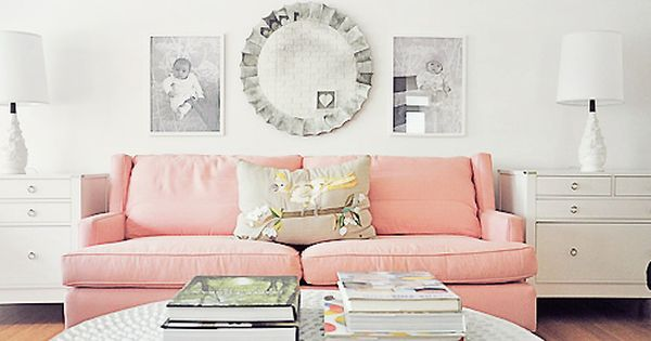 Tiffany Leigh Interior Design: Pink Couches