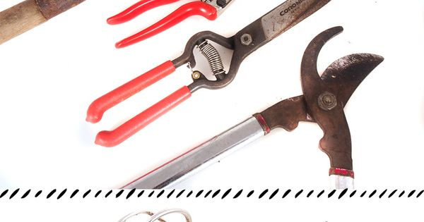 How to clean rusty garden tools pin now use at the end for Gardening tools vancouver