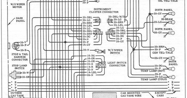 1960 ford f100 wiring diagram images 1959 ford f 100 wiring 60 66 full body wiring the 1947 present chevrolet amp gmc truck