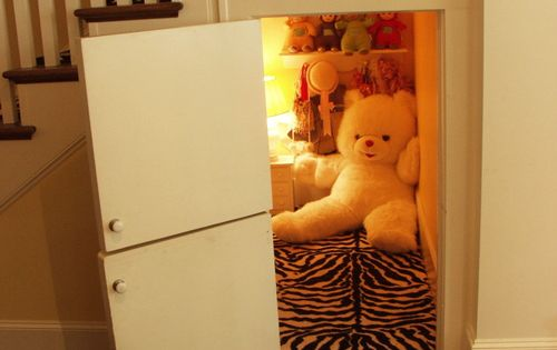 The Converted Closet Nook, I'm pretty sure I could make our Harry