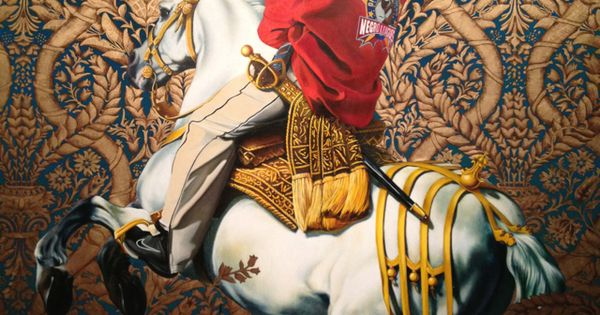Kehinde Wiley Equestrian Portrait Of The Count Duke