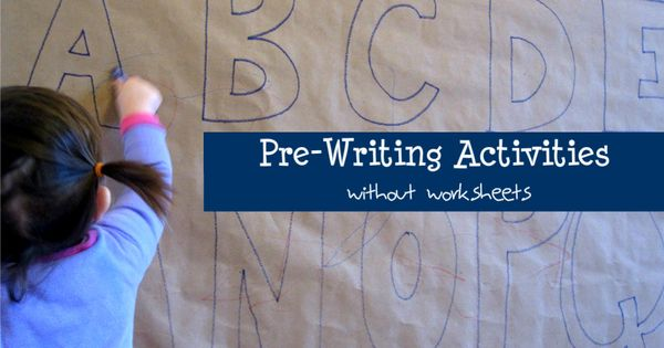 Diverse ideas for handwriting practice without worksheets