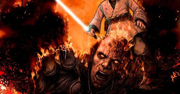 Obi-Wan Kenobi vs. Anakin Skywalker - Star Wars - Chris