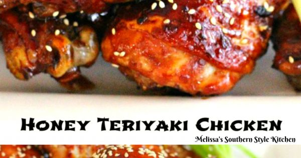 Honey-Teriyaki Chicken | Recipe | Honey, Chicken and Honey teriyaki ...