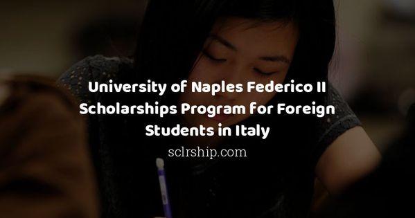University Of Naples Federico Ii Scholarships Program For Foreign