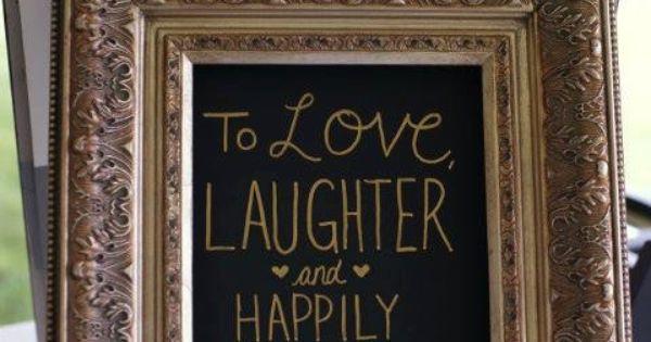 Adorable Wedding Decoration Quote. $30.00, via Etsy.