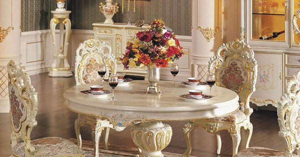 Palacio real de muebles franc s muebles de comedor for Muebles franceses