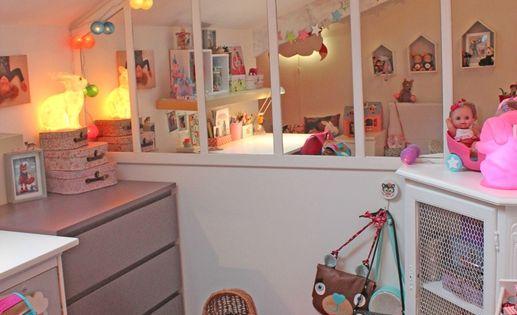 Une verri re en trompe l 39 oeil avec des miroirs pour for Miroir verriere ikea
