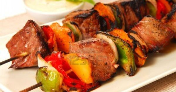 Beef kabobs, Kabobs and Shish kabobs on Pinterest
