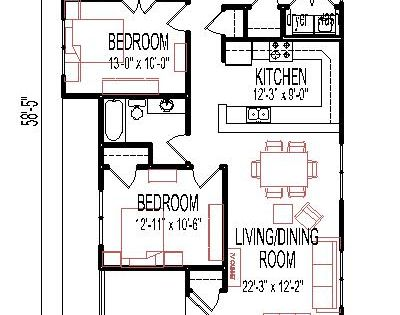 Handicap accessible small house floor plans salt lake city for Accessible house plans small
