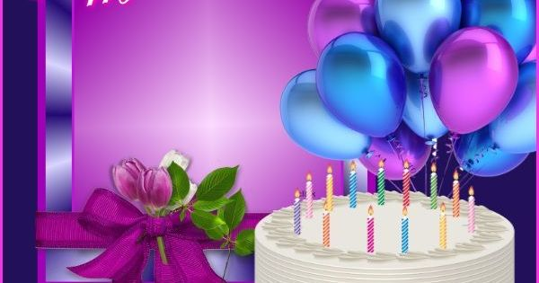 Happy Birthday Cakes And Balloons Images Bing Images