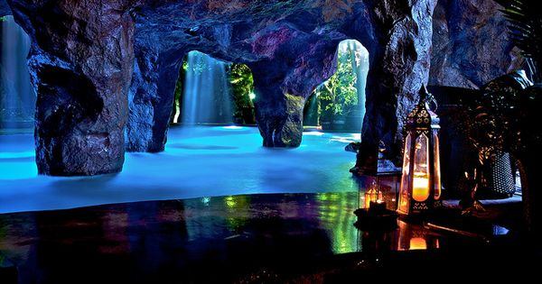 Grotto Pool Home Stuff Pinterest Caves Awesome And