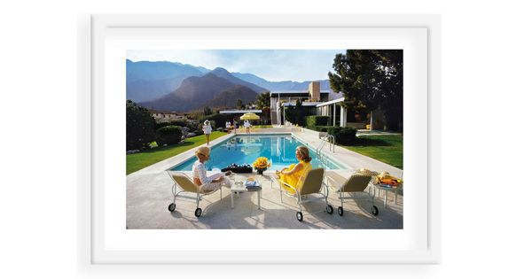 Slim aarons poolside glamour 1970 photographs the o jays and slim