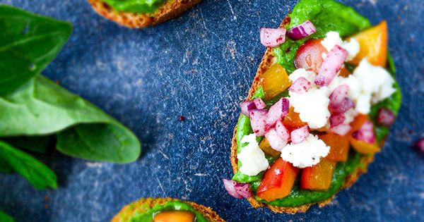 Peach Bruschetta with Avocado Sauce | Recipe | Bruschetta, Peaches and ...
