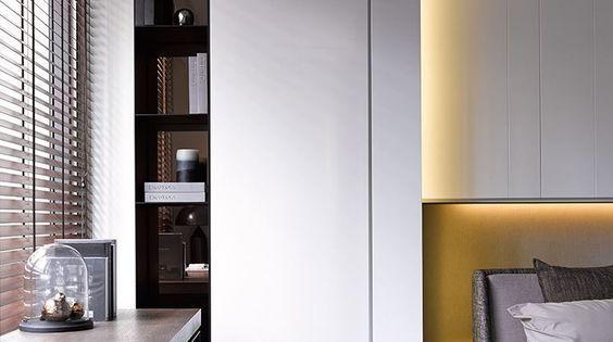 12 id es pour am nager un coin bureau dans votre chambre lit de placard design et placard - Amenager un placard en bureau ...