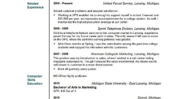 Cosmetology Resume Objective Statement Example -    www - part time resume example
