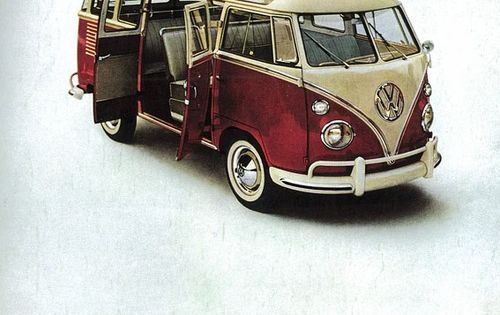 VW bus! Love!!