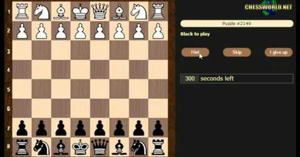 How To Solve Chess Puzzles Chessworld Net Puzzle Practice 50