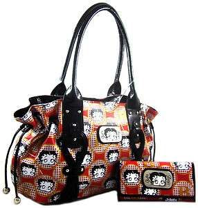 Betty Boop Bags And Purses Licensed Side