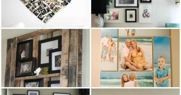 Top 18 DIY Wall Photo Decor Ideas DIY Crafts home