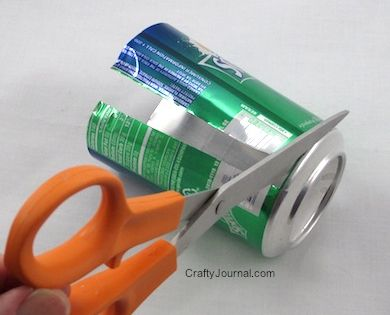 How To Turn A Soda Can Into A Flat Sheet Of Aluminum
