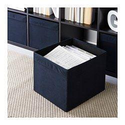 DRÖNA Contenitore nero 33x38x33 cm | Idee ikea, Ikea, Bidoni