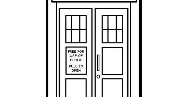 tardis coloring pages - photo#17
