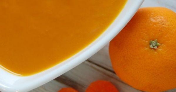Sunshine Carrot Soup