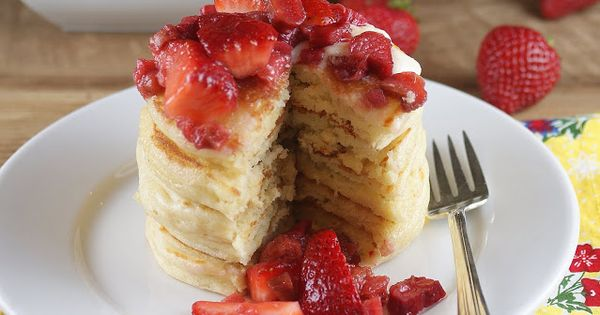 Pancakes, Breakfast and Buttermilk pancakes on Pinterest