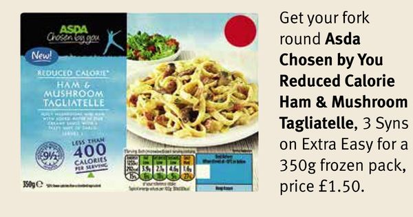 Asda - Chosen By You, reduced-calorie Ham & Mushroom ...