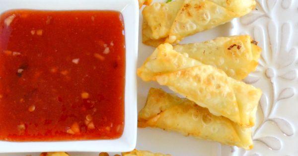 ... Mini Shrimp Rolls with Homemade Plum Sauce | Recipe | Shrimp Rolls