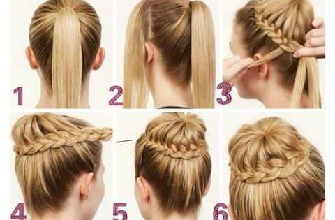 Como aprender hacer peinados bonitos y faciles imagenes - Como hacer peinados faciles ...