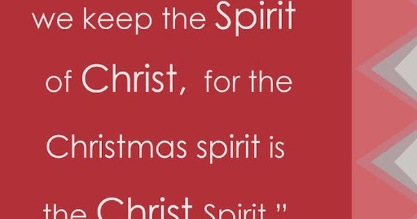 Get In The Spirit Christmas Lds Quotes: LDS Christmas Quote By Thomas S. Monson #Christmasspirit