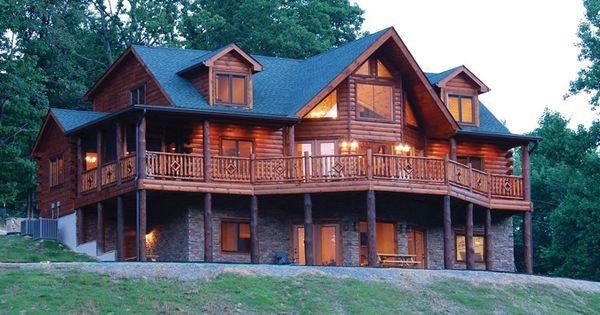 Naturecraft wholesale log homes log cabin packages for Affordable log home plans