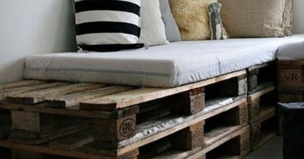 Pallets, Van and Beds on Pinterest