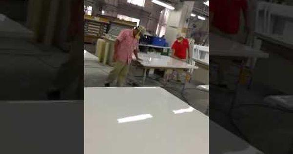 Production Scene For Fiberglass Panel Www Miyabifrp Com Panel Frp Fiberglass Board Container Refrigerator Refrigera Fiberglass High Bay Lights Paneling