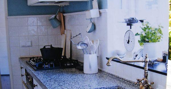 Ouderwetse keuken google zoeken country ways howdy pinterest ouderwetse keuken keuken - Keukenmuur deco ...